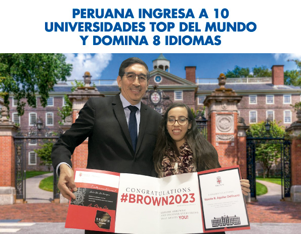 Peruana ingresa a 10 universidades top del mundo